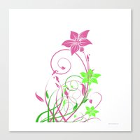 Spring's flowers Canvas Print