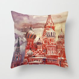 Moscow Throw Pillow