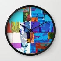 africa Wall Clocks featuring Africa by Fernando Vieira