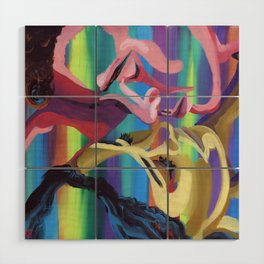 Hover Tension Wood Wall Art
