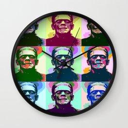 Frankenstein Pop Art Wall Clock