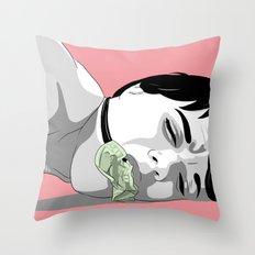 Dollars Throw Pillow