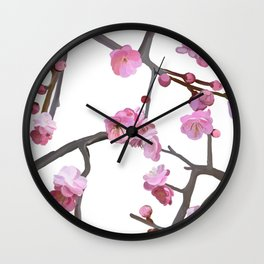 Plum blossom pattern Wall Clock