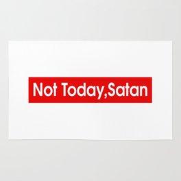 Not Today Satan Rug