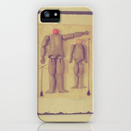 Dad's Puppets iPhone Case