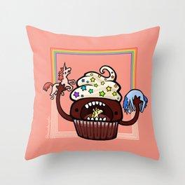 Food Series - Cupcake Throw Pillow