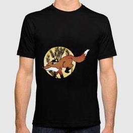 Fox On The Hunt T-shirt