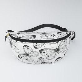 Cabbage butterfly pattern Fanny Pack
