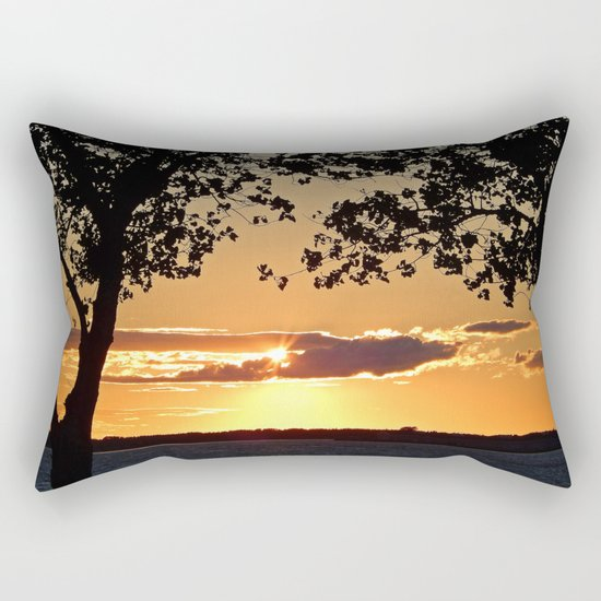 Sunset on Summerside Rectangular Pillow