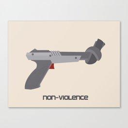 Non-violence (Duck Hunt) Canvas Print