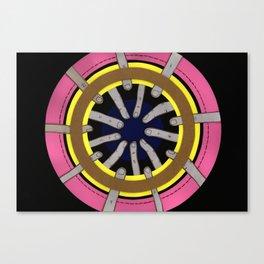 radial blame III Canvas Print