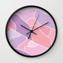 mineral ametista Wall Clock