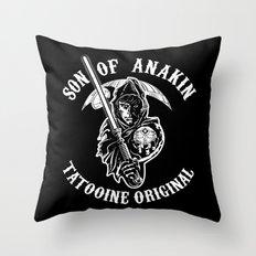 Son of Anakin Throw Pillow