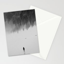 Silent Walk Stationery Cards