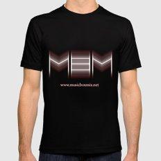 MBM Mens Fitted Tee Black MEDIUM