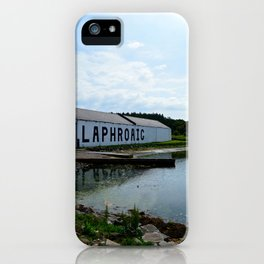 The Laphroaig Distillery in Islay iPhone Case