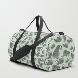 Adorable Badger ( Meles meles ) Duffle Bag