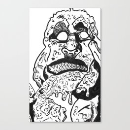 THE MUTANT Canvas Print