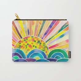 The Dissolving Sun Carry-All Pouch