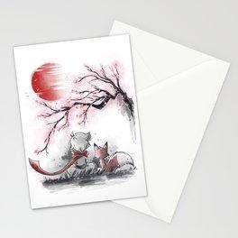 Sakura friends Stationery Cards