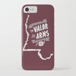 Mississippi Motto (Maroon) iPhone Case