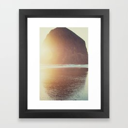 This is where I want to be... Framed Art Print