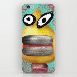 sick and tyred iPhone Skin