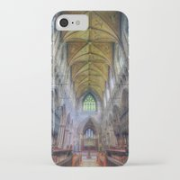 shining iPhone & iPod Cases featuring Shining Faith by Ian Mitchell