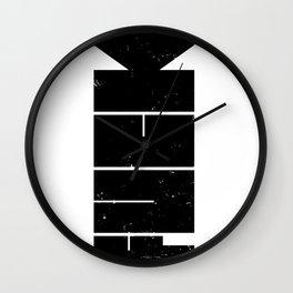 Fuck bomb Wall Clock