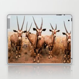 the herd at maasai mara-kenya Laptop & iPad Skin