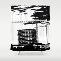 sister Shower Curtains featuring One sister by Alan Pary