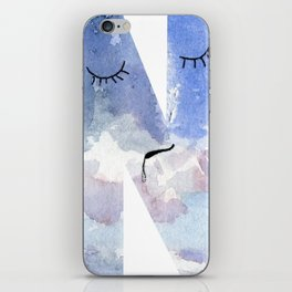 """N is for """"Nebulous"""" iPhone Skin"""