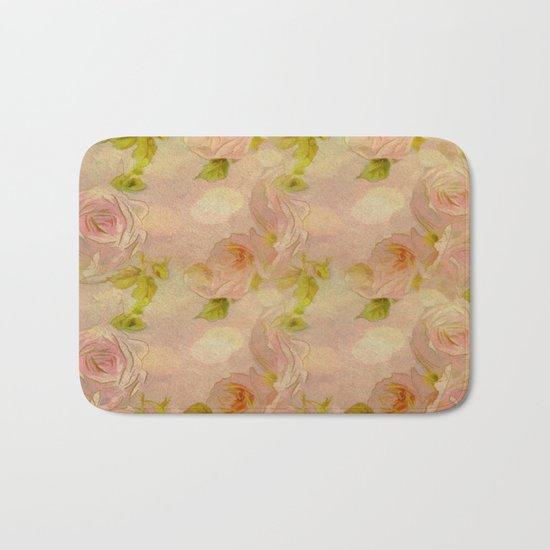 Secret Rose Garden Bath Mat