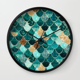 REALLY MERMAID Wall Clock