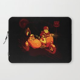 Route To Hell Laptop Sleeve