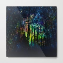 Magical Forest II Metal Print