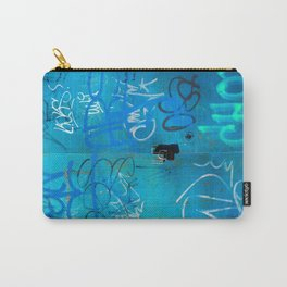 Urban Blue Style Street Graffiti Carry-All Pouch