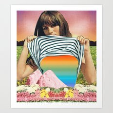 Internal Rainbow II Art Print