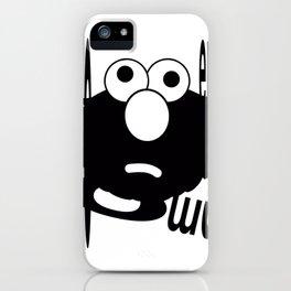 Emo Elmo iPhone Case