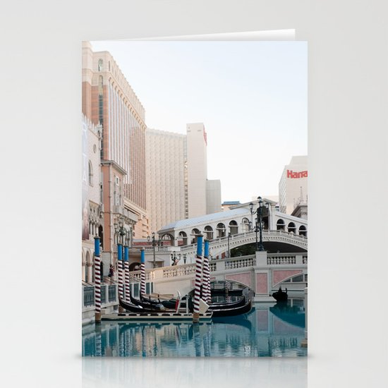 Venetian, Early Morning Stationery Cards