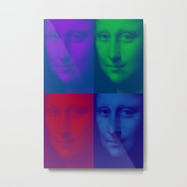 Mona x4 Metal Print