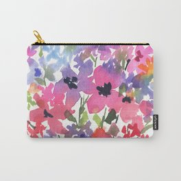 Lovely Little Fleurs Carry-All Pouch