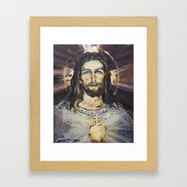 Ecstasy X. The Transfiguration Framed Art Print