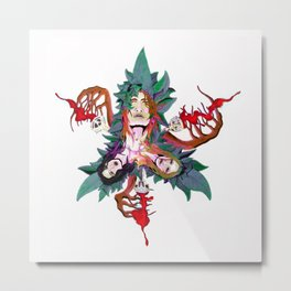 Bacchus Metal Print