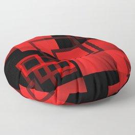 2D - abstraction -3b- Floor Pillow