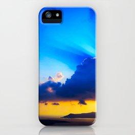 Angel sky iPhone Case
