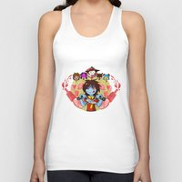 cooking Tank Tops featuring Cooking Che by marvelousghost