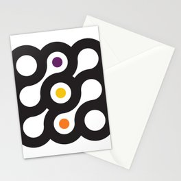 Circles 3x3 #6 Stationery Cards