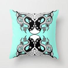 Octopus Mirrored Throw Pillow