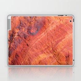 Natural Sandstone Art - Valley of Fire Laptop & iPad Skin